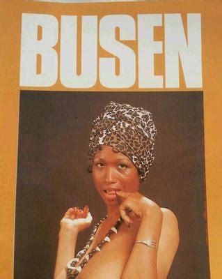 Busen Magazine   vintage mens busen magazine no 4 with sylvia mcfarland and