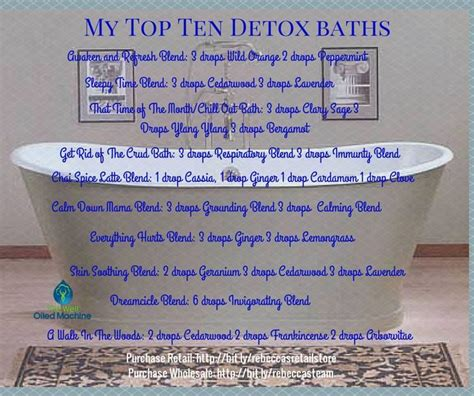 Best Essential Detox Bath by 17 Best Images About Essential Oils Your Daily Ritual On