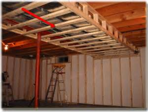drop ceiling frame how to frame around the duct work in basements mancave