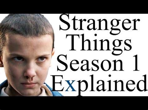 bioskopkeren stranger things season 1 stranger things season 1 explained tube aeiou