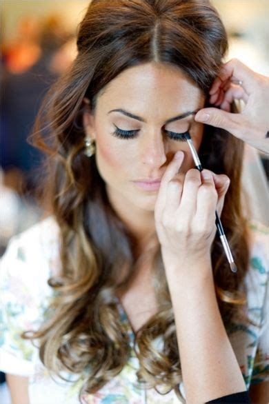 hair and makeup for engagement photos beauty inspiration a soft and romantic wedding day look