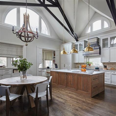 vaulted ceilings kitchen ideas images pinterest cottage living room cathedral ceilings