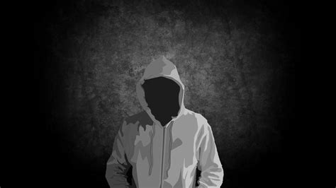 wallpaper dark man hoodie walldevil