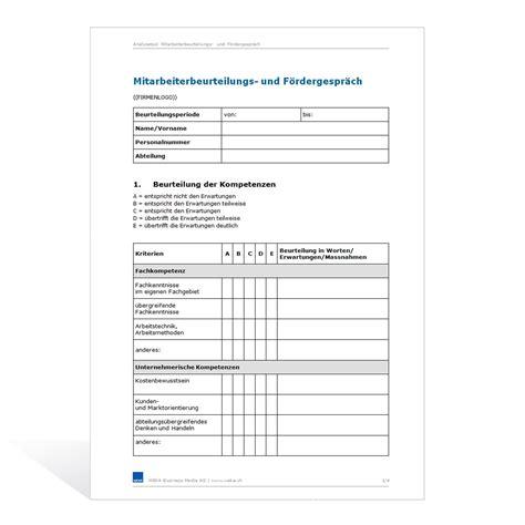 Vorlage Word Notizzettel Vorlage Mitarbeiterbeurteilungs Und F 246 Rdergespr 228 Ch