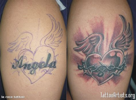 cover up heart tattoo designs cover up name tattoos i need this tats