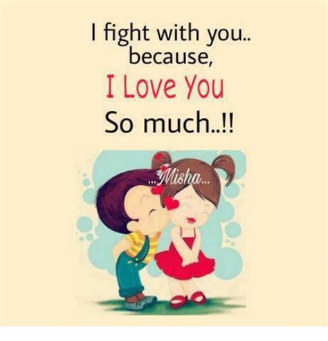 So In Love Meme - i fight with you because i love you so much misha love