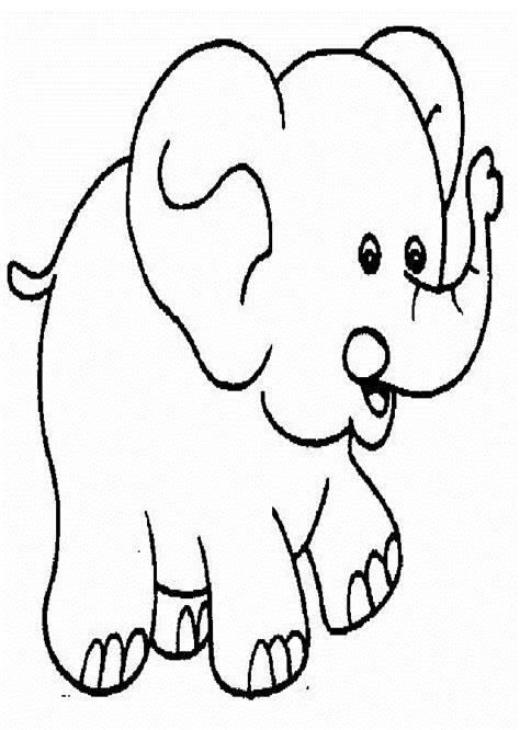 Imagenes Para Colorear Elefante | elefantes para colorear dibujos para colorear