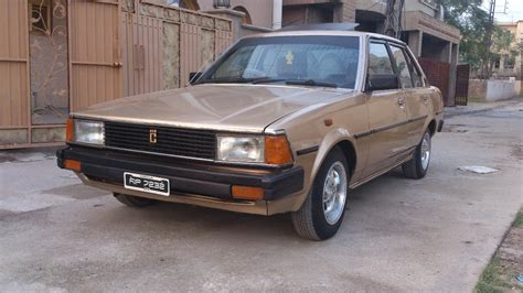Toyota 1982 For Sale Toyota Corolla 1982 Model Golden Color For Sale
