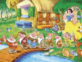 Snow white and the seven dwarfs wallpaper disney wallpaper 6461145