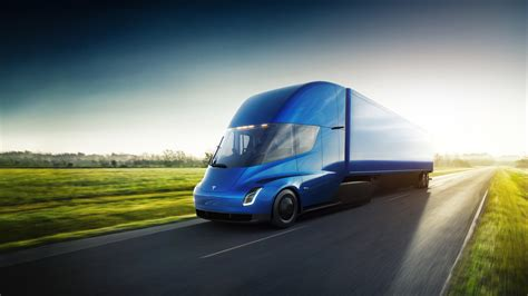 tesla truck this is the tesla semi truck the verge