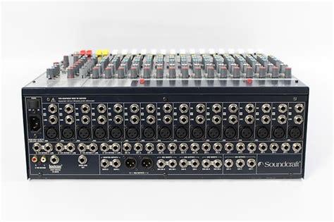 Mixer Soundcraft Fx16ii soundcraft fx16ii 16 channel mixer digital effects reverb