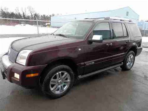2010 mercury mountaineer heated leather trimmed front seats batucars buy used 2007 mercury mountaineer premier awd heated leather power sunroof in spencerport new