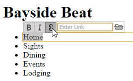dreamweaver tutorial bayside beat how to make a website part 3 add html5 elements adobe