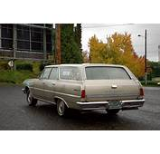 OLD PARKED CARS 1965 Chevrolet Malibu Chevelle 327 Wagon
