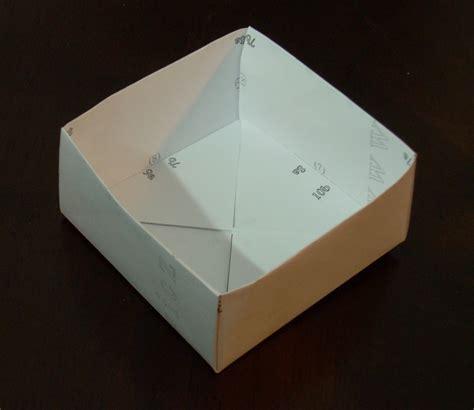 origami storage box storage box printable origami