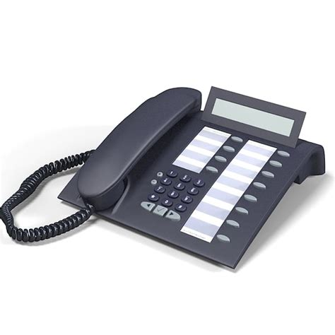 Office Desk Phone Office Desk Telephone 21 Cgaxis 3d Office Desk Phone