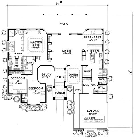 hacienda style homes floor plans marvelous hacienda style house plans 3 small hacienda