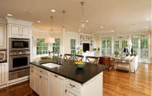kitchen livingroom open concept kitchen pros cons and how to do it right decor