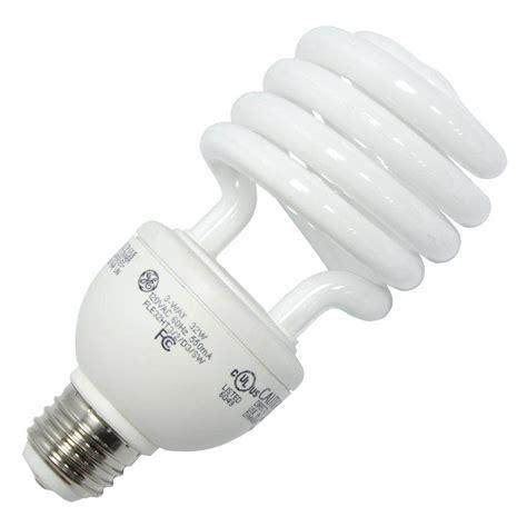 Ge Fluorescent Light Bulbs by Ge 78952 Fle32ht3 2d3 Bx Twist Medium Base Compact