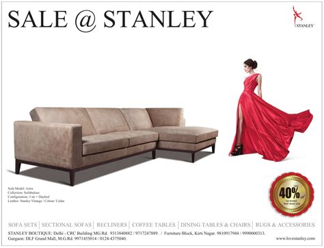 stanley leather sofa bangalore sofas stanley upto 40 off mumbai new delhi