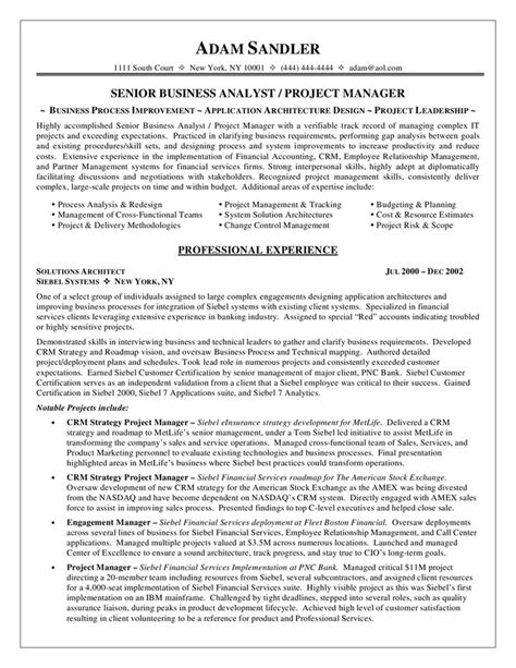 business analyst resume sle work data pinterest
