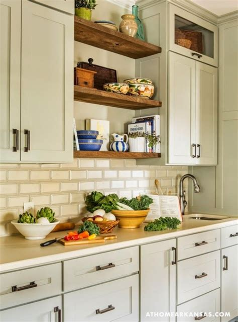 open style kitchen cabinets 25 open shelf ideas to make your kitchen more spacious