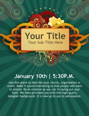 event flyer template word new year church event flyer templates template flyer