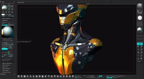 mastering zbrush 4r6 materials hard surface modelling in zbrush 4r6