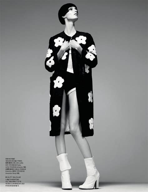 marte mei haaster for s bazaar korea april 2013 the fashionography