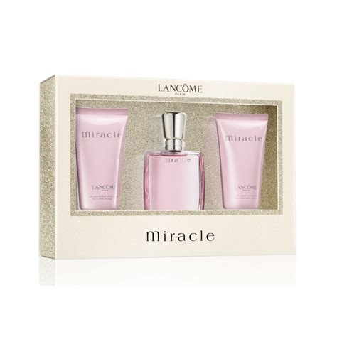 Lancome Miracle Shower Gel lancome miracle eau de parfum 30ml lotion 50ml