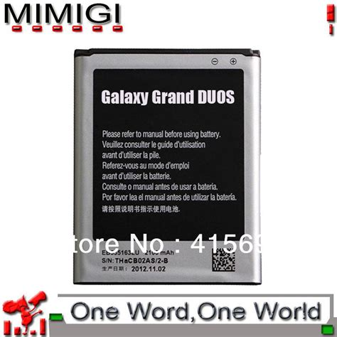 Battery Batre Samsung Galaxy Grand I9082 genuine eb535163lu battery for samsung galaxy grand duos gt i9082 i9082 batterie bateria