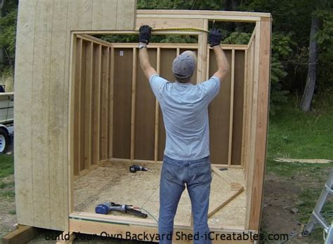 how to build a shed storage shed building