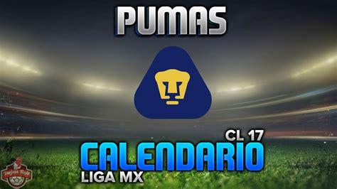 Calendario Liga Mx 2016 Pumas Pumas Calendario Clausura 2017 Liga Mx