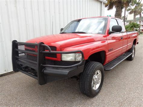 red bed liner 1998 dodge ram 2500 longbed 4x4 5 9l v6 cummins turbo