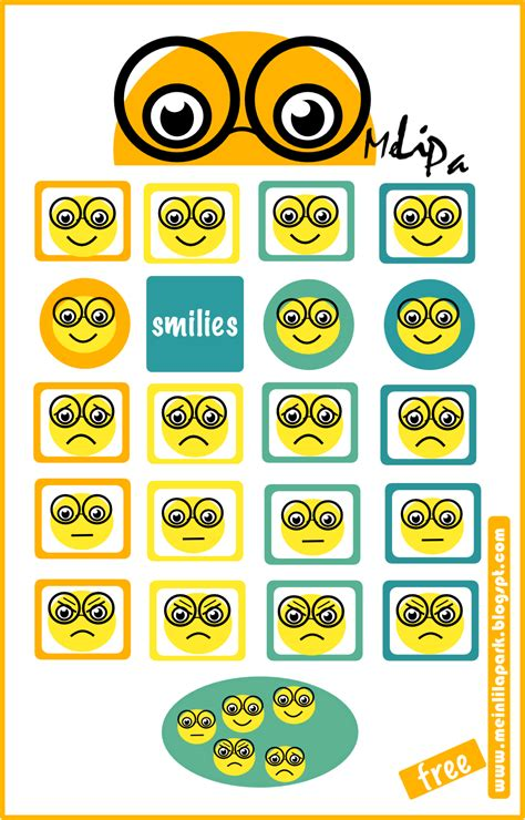 printable smiley stickers free digital and printable smiley stickers for mood