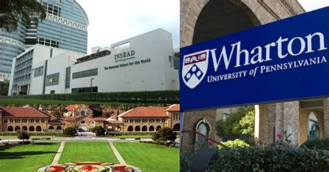 Mba Best Schools In The World by Top Mba Colleges In The World 2017 Global Mba Rankings