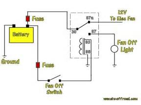 5 blade relay wiring diagram cooling fan 5 wiring diagram