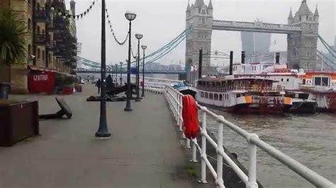 london thames river youtube river thames butler s wharf walk pov london youtube