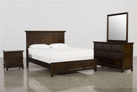 living spaces bedroom furniture dalton queen 4 piece bedroom set living spaces