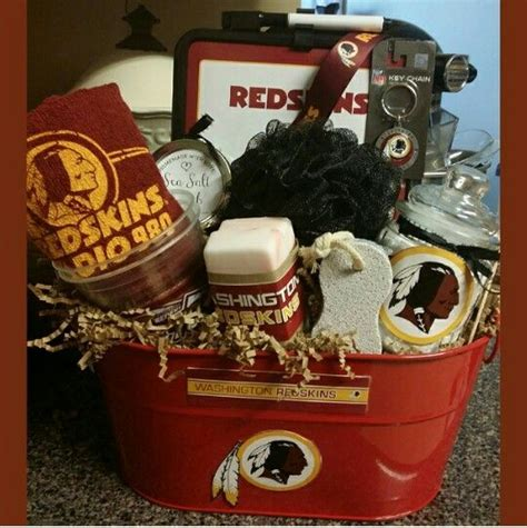 redskins gifts redskins spa gift basket shipping available contact me