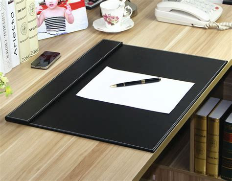 modern desk mat black leather 30 x19 f economic office table l type modern office table buy l