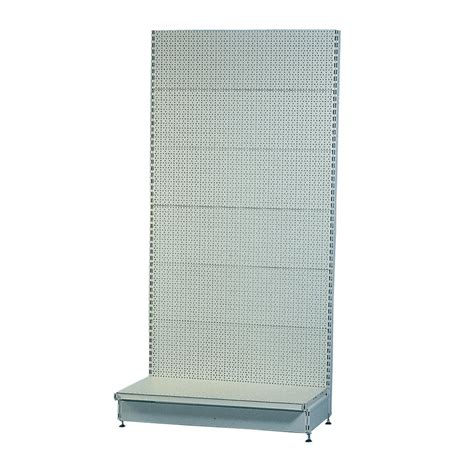 peg board shelves tegometall supermarket shelf starter pegboard wall shelving gt shop shelving supermarket