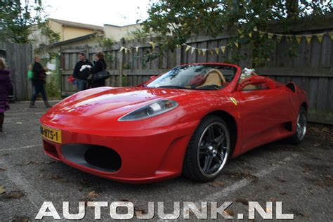 replica ferrari toyota mr2 turned into ferrari f430 replica showcased at
