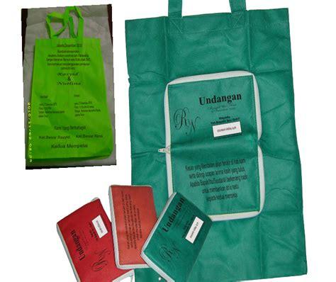 Undangan Bentuk Tas Terlaris undangan tas spunbond iklan gratis