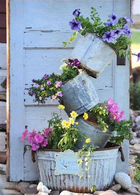 Shabby Chic Garden Planters by 27 Tower Garden Ideas For Vertical Gardening Homesteading
