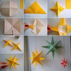 simple creative ideas for home decor creative ideas diy easy paper star decor