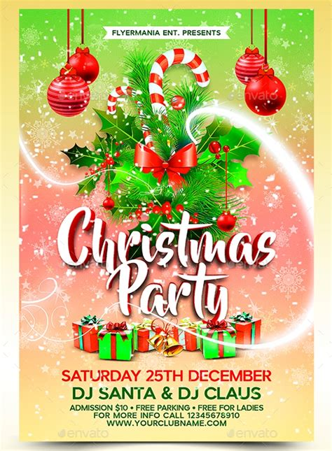 christmas party templates psd eps vector format   premium templates
