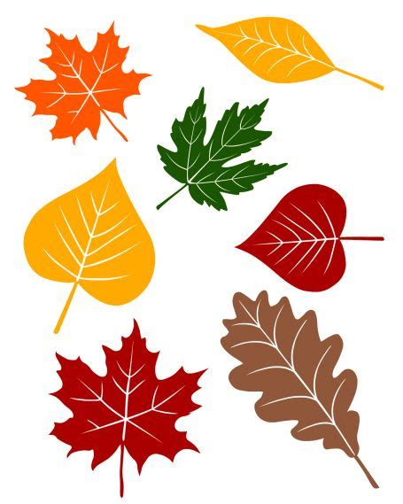 free printable fall leaves 5 fall circle time lessons with free printables no time
