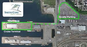 Pier 91 Seattle Map by Parking Information Cruise Terminals Of America