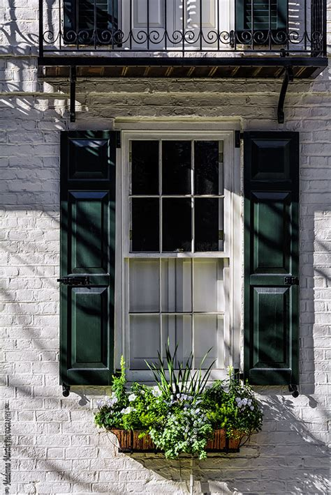 cottage days and journeys photo of the week charleston green shutters and window box